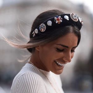 NWT Zara Limited Edition Jewel Headband